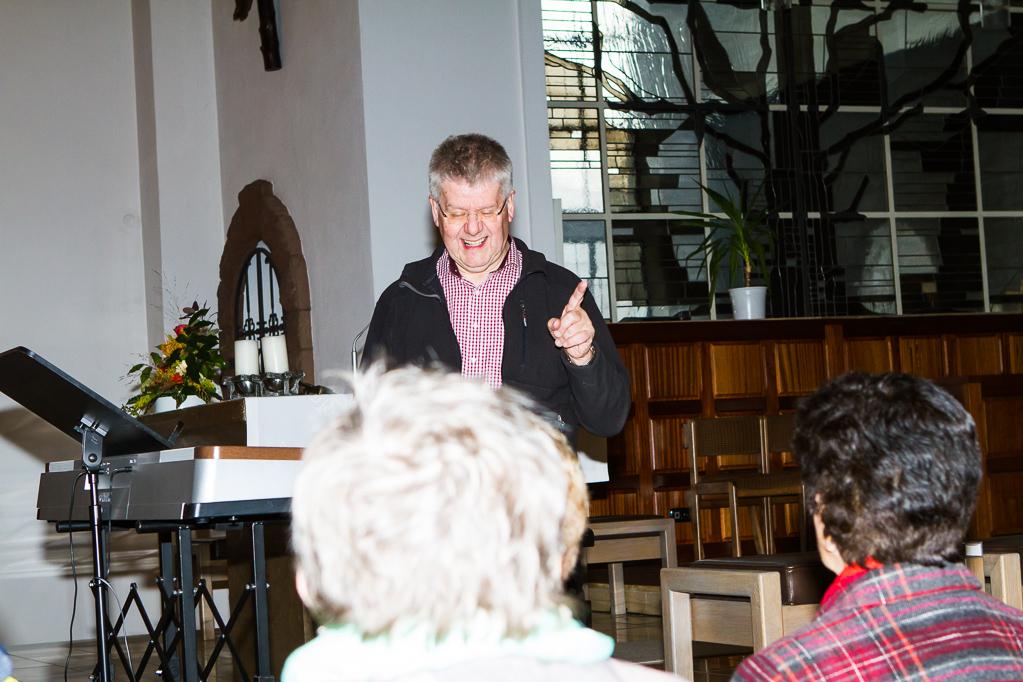 Stellprobe und Abendgebet in Sr. Nikolaus