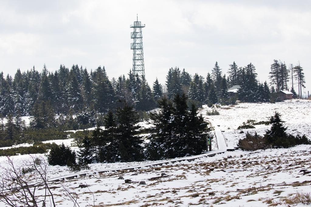 Telekom-Funkturm auf der Hornisgrinde