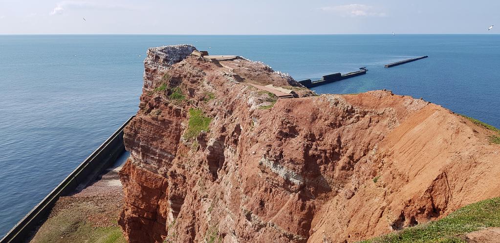 "Felsen an der ""Langen Anna"" auf Helgoland"
