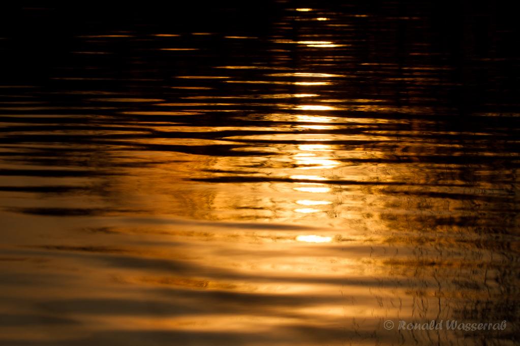 Sonnenuntergangs-Spiegelung