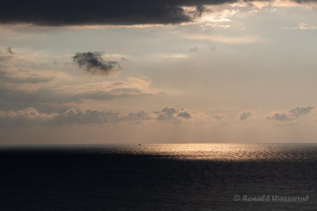 Abendstimmung auf Helgoland