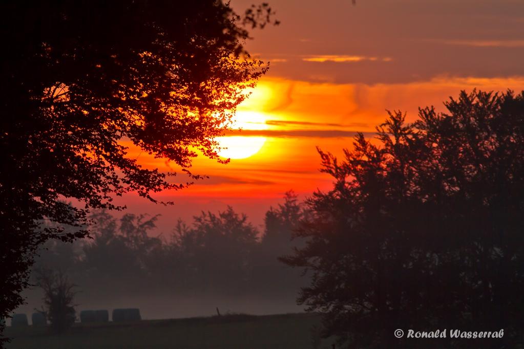 Sonnenaufgang am Hexenplatz