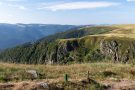 Blick vom Gipfel des Hohnecks auf die Spitzkoepfe