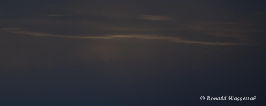 Morgentlicher Lichtstreif