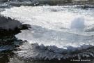 Dreifache Eiskrone in der Kall