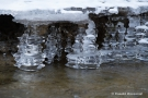 Eisstrukturen in der Kall