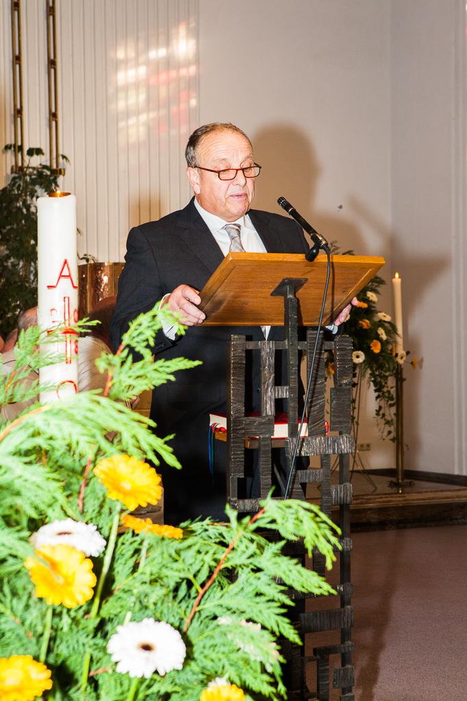 Laudatio vom Ortsvorsteher Helmut Rösseler