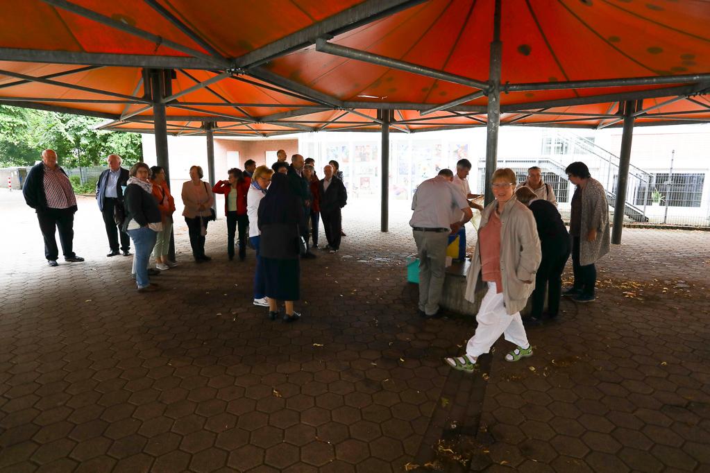 Frühstückspause in Holles Gymnasium 2194