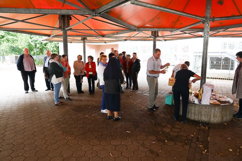 Frühstückspause in Holles Gymnasium 2198