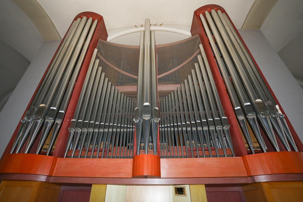 Prospekt der Klais-Orgel 2268