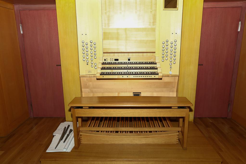 Spielschrank der Klais-Orgel 2269