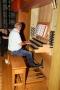 Andreas Cavelius an der Klais-Orgel 2255