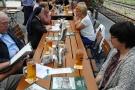 Mittagessen im Nord-Bahnhof Krefeld 2276