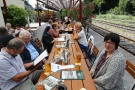 Mittagessen im Nord-Bahnhof Krefeld 2277