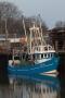 Schiff im Büsumer Hafen