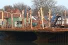 Trockendock im Büsumer Hafen