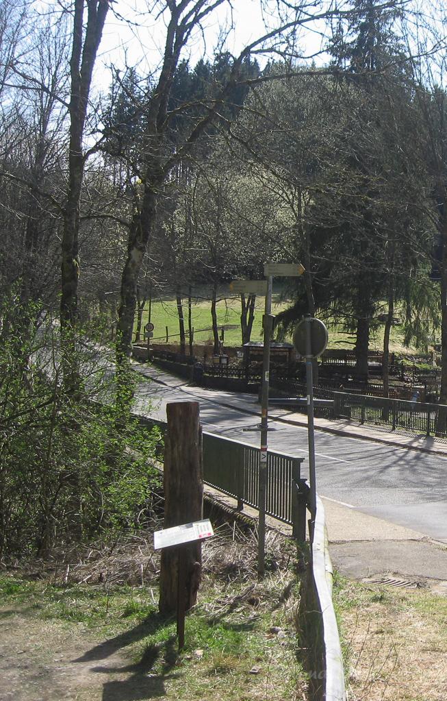 Brücke an der Höfener Mühle