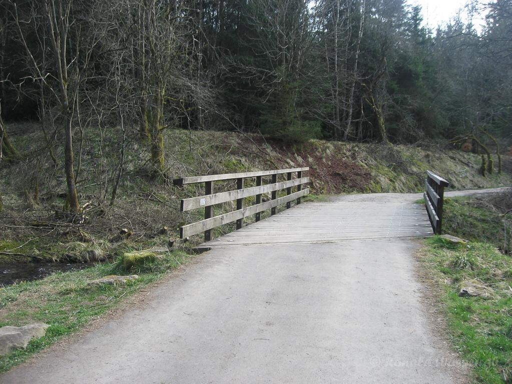 Brücke Nähe Bunker im Fuhrtsbachtal
