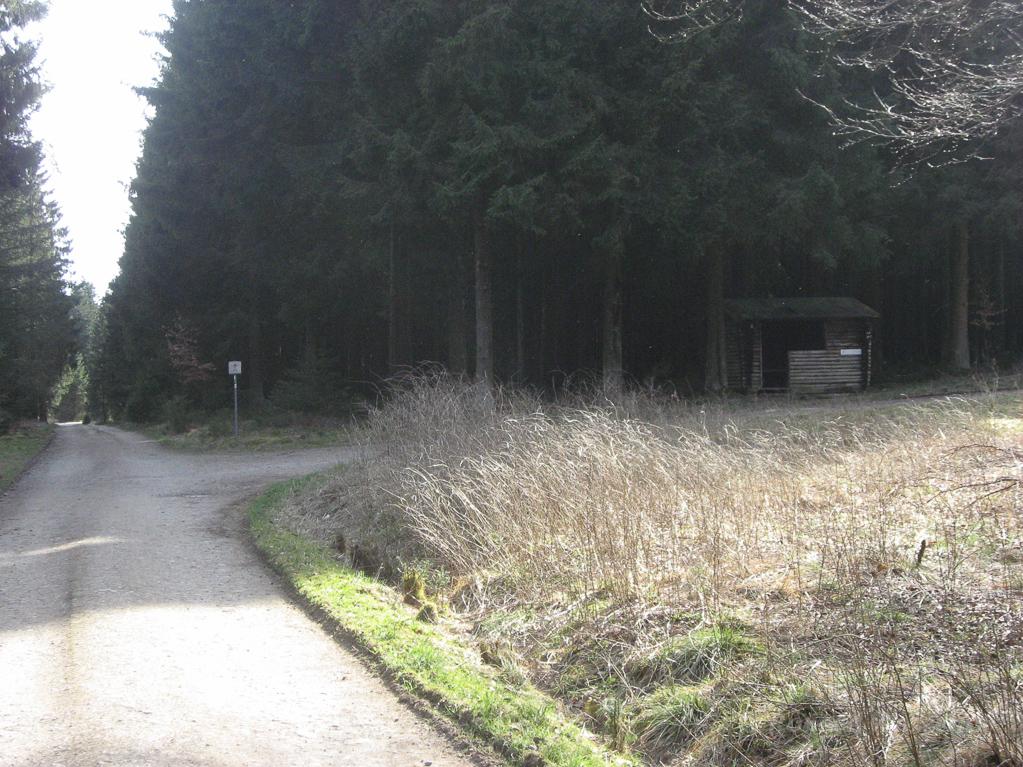 Hütte an der Dicken Hecke