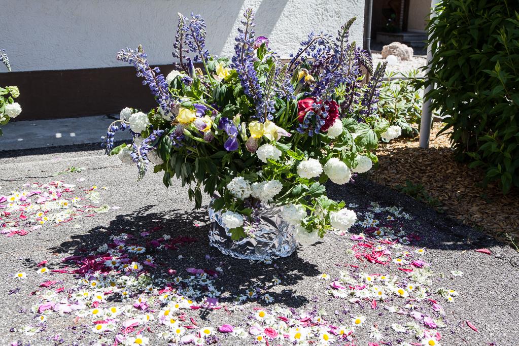Altar an der Pension Linde