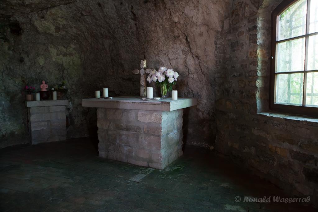 Altar in der St. Veits-Kapelle Istein