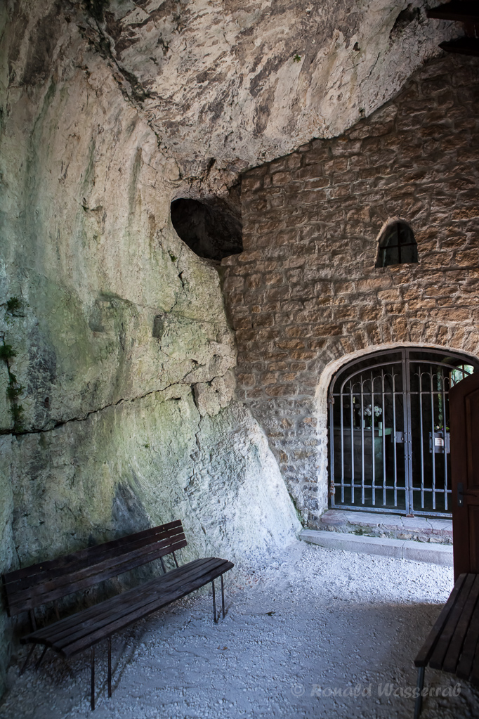 In der St. Veits-Kapelle Istein