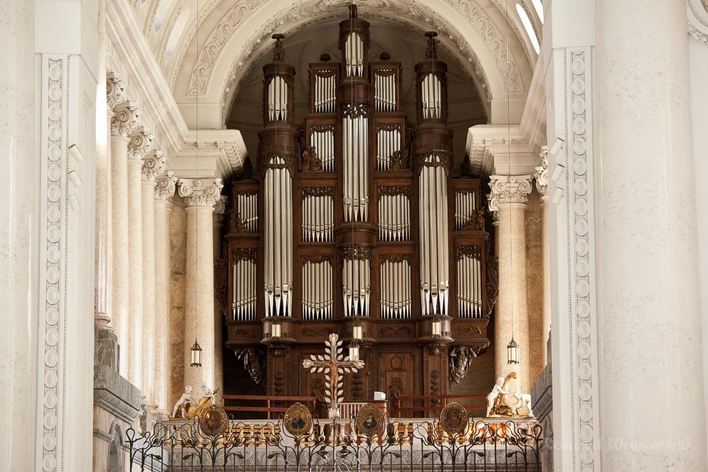 Orgel im Dom zu St. Blasien