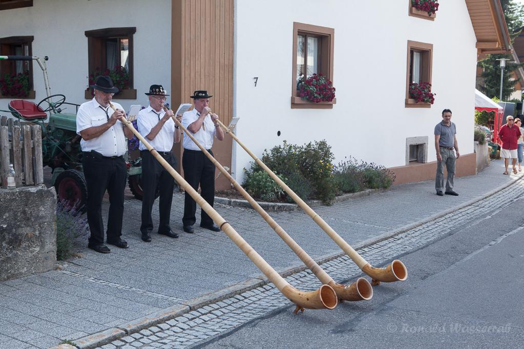 Das Aarberg-Trio auf der Schlemmermeile Höchenschwand Foto: Peter Schmitz