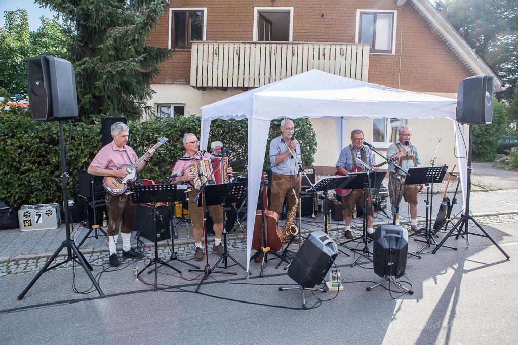 Die Stubenhogger-Musikanten Foto: Peter Schmitz