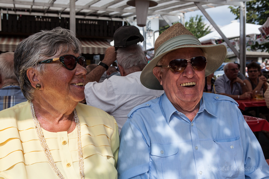 Margot und Peter, zwei Kölner Urgesteine, wohnen nun in Höchenschwand