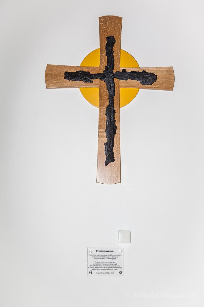 Splitterkreuz aus Huertgenwald in St. Michael Höchenschwand