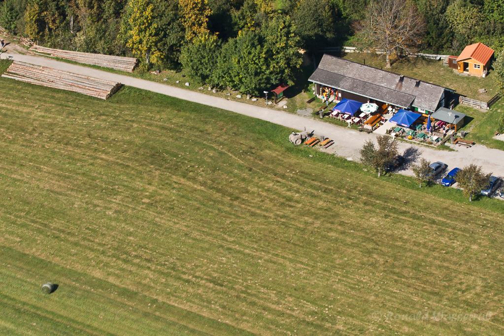 Luftbild vom Loipehaus Höchenschwand