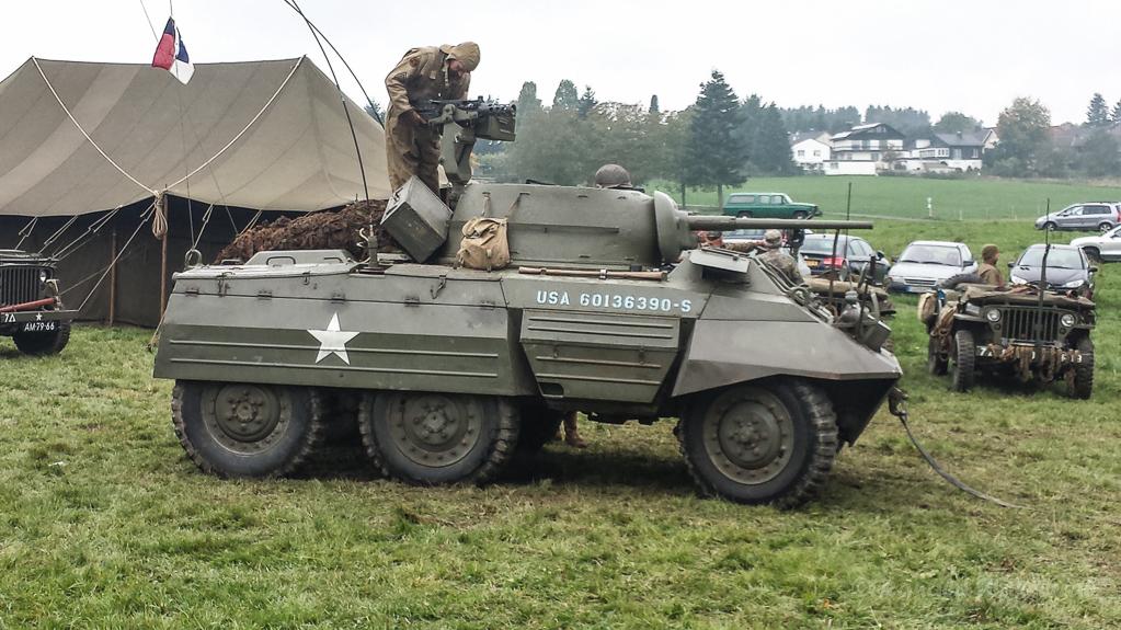 Am MG des Geschütz-Panzers
