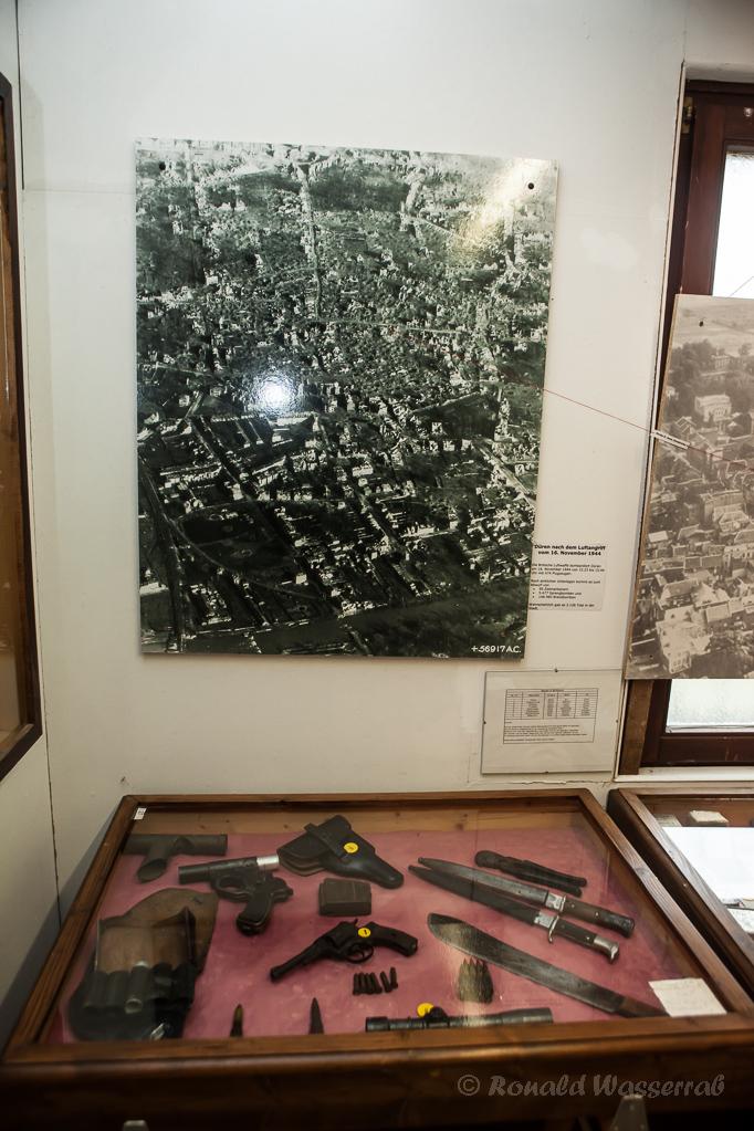 Das am 16.11.1944 zerstörte Düren