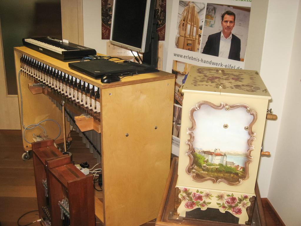 Marimbaphon und Glockenspiel