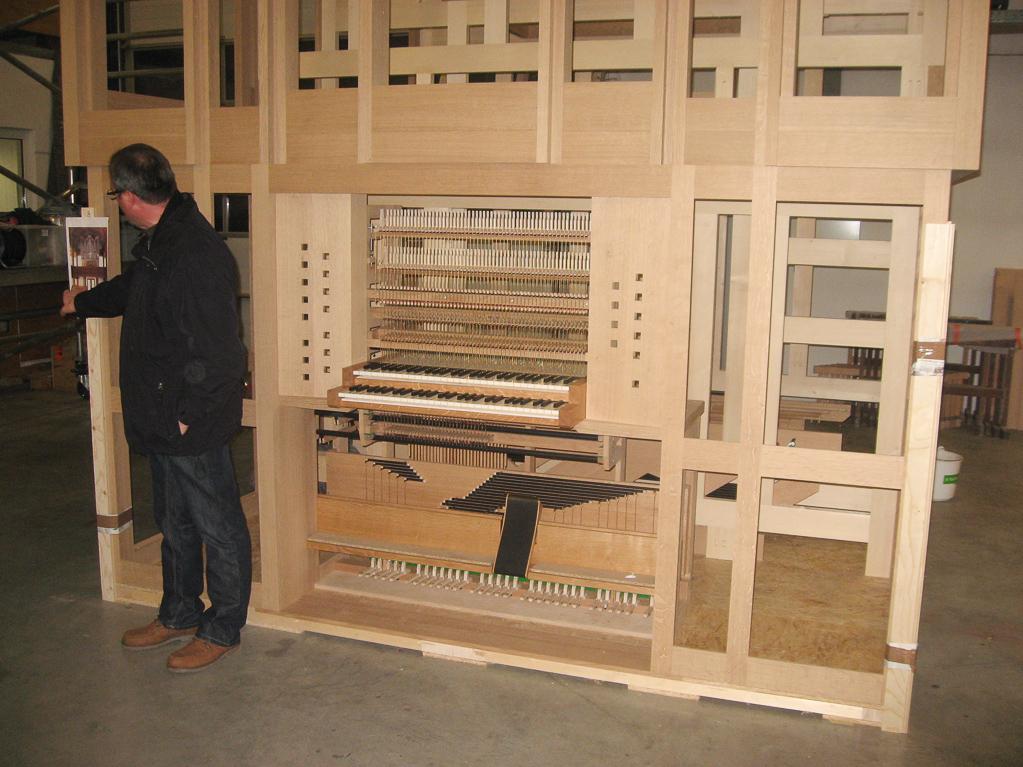 Die Orgel für Trittau