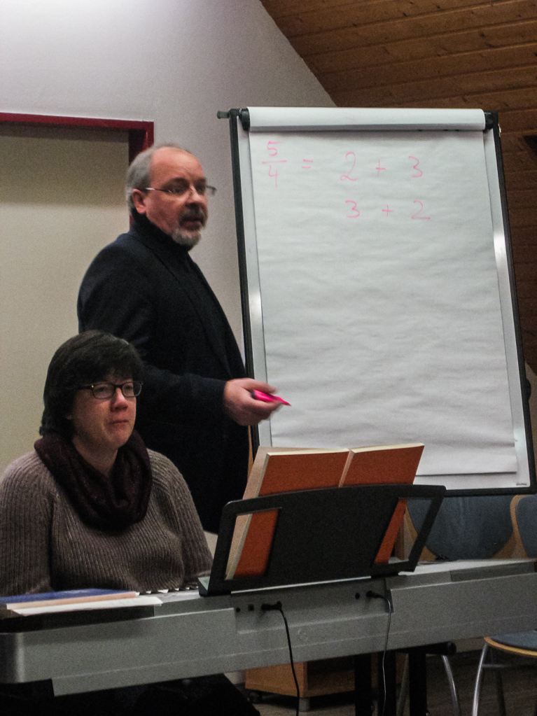 Höhere Chorleiter-Mathematik