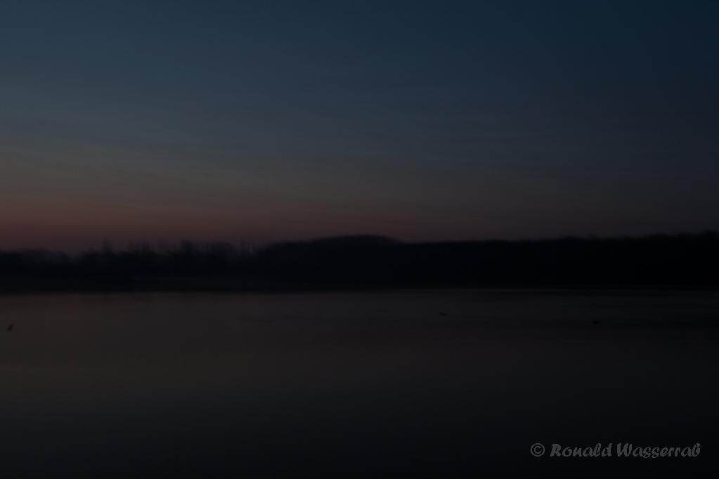 Badesee Düren vor Sonnenaufgang