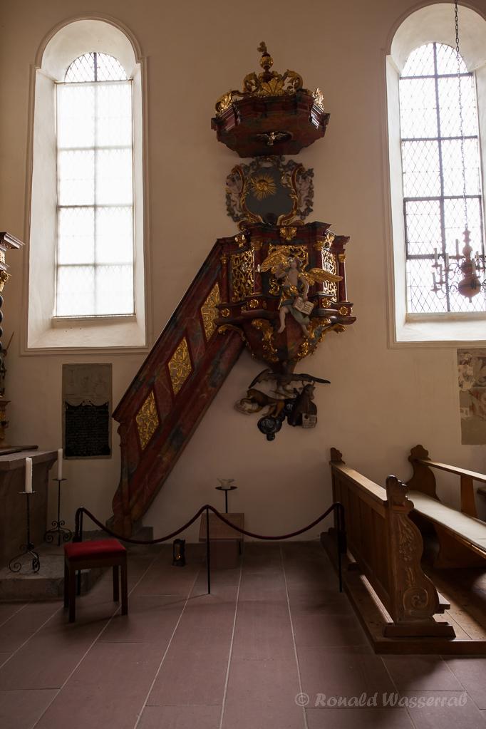 Kanzel St. Michael Niederrotweil