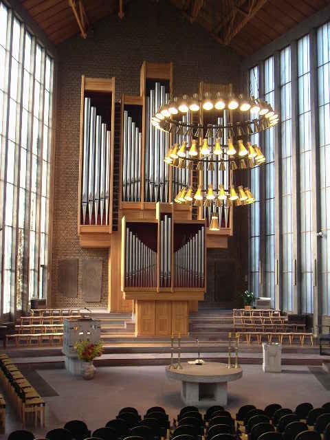 Die Steinmeyer-Orgel der ev. Christus-Kirche zu Düren