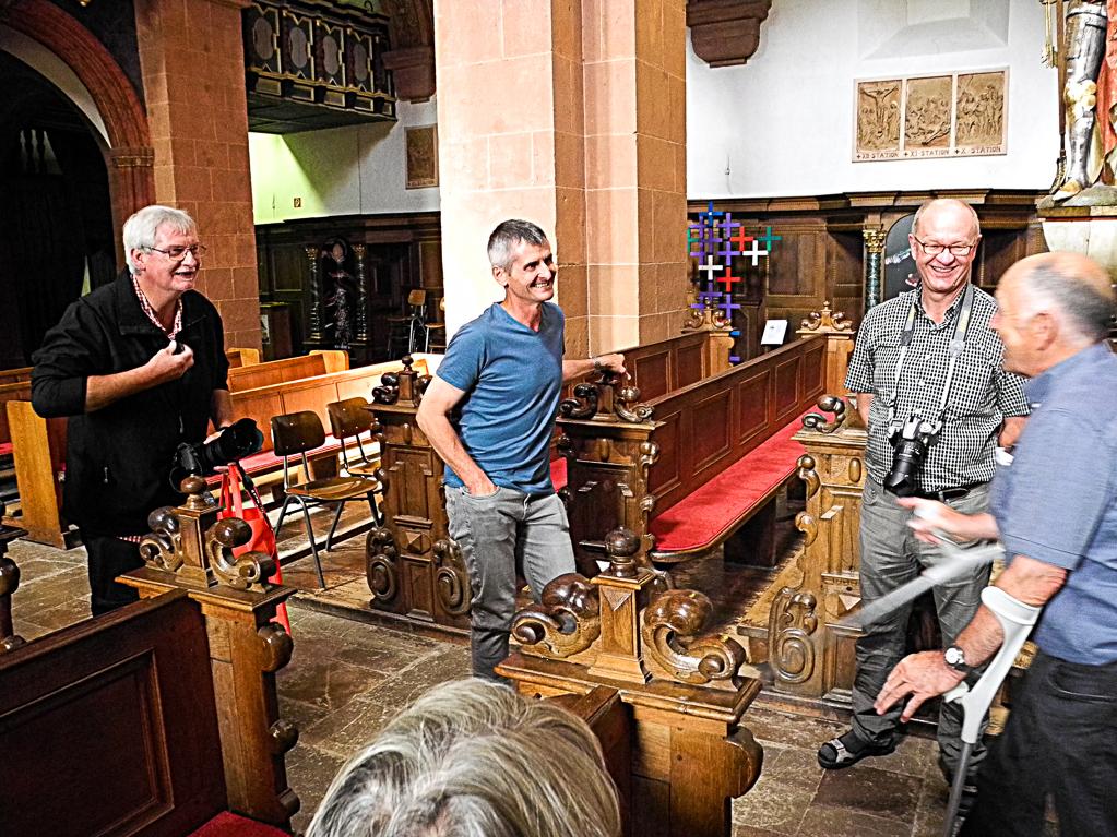 In der Basilika (Foto: Heinz-Dieter Hannes)In der Basilika (Foto: Heinz-Dieter Hannes)