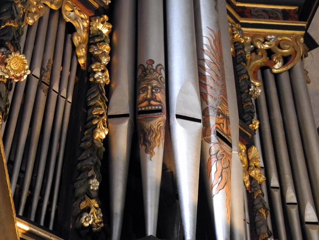 Prospektpfeifen der König-Orgel (Foto: Heinz-Dieter Hannes)