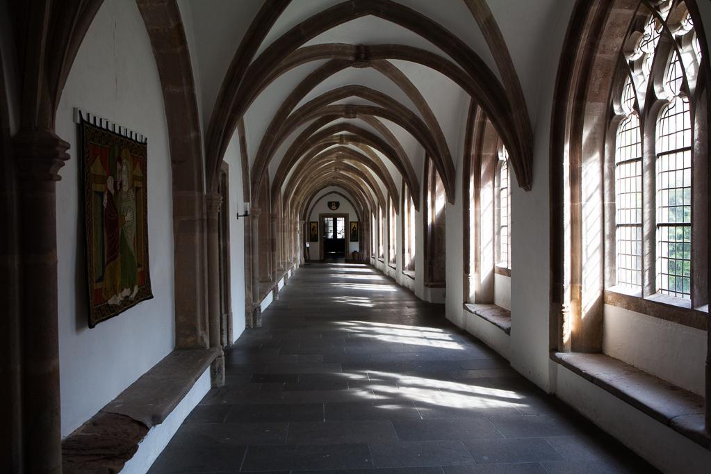 Kreuzgang im Kloster Steinfeld