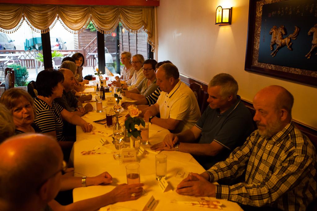 Abendessen im China-Restaurant in Gey