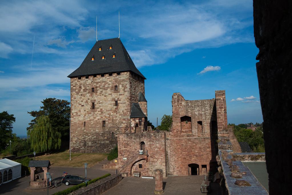 Auf Burg Nideggen