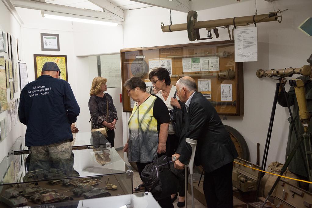 """Im Museum """"Hürtgenwald 1944 und im Frieden"""""""