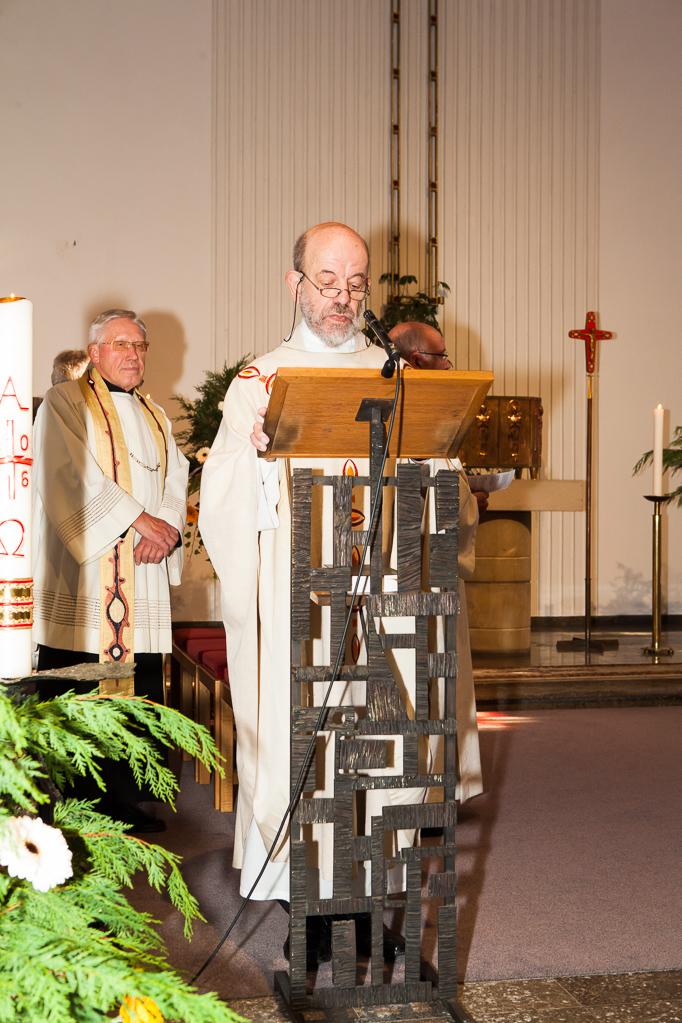 Der Jubilar, Pfarrer Georg Neuenhofer
