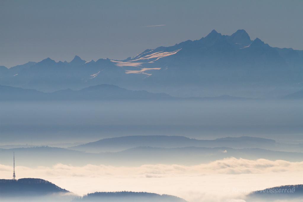 Alpensicht bei Höchenschwand