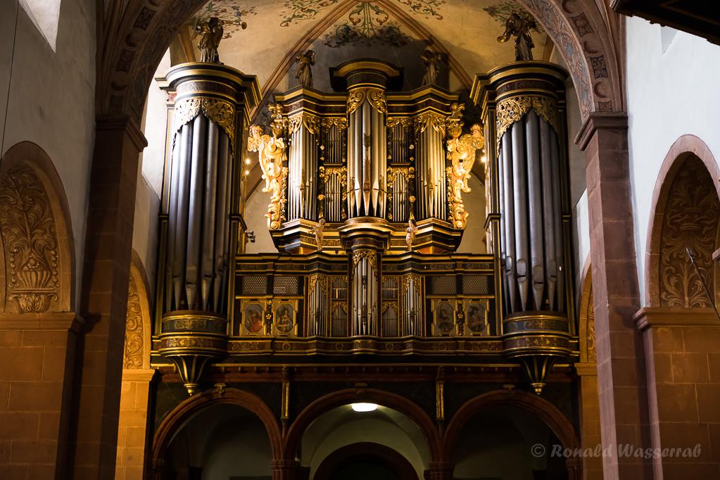 Prospekt der König-Orgel zu Steinfeld