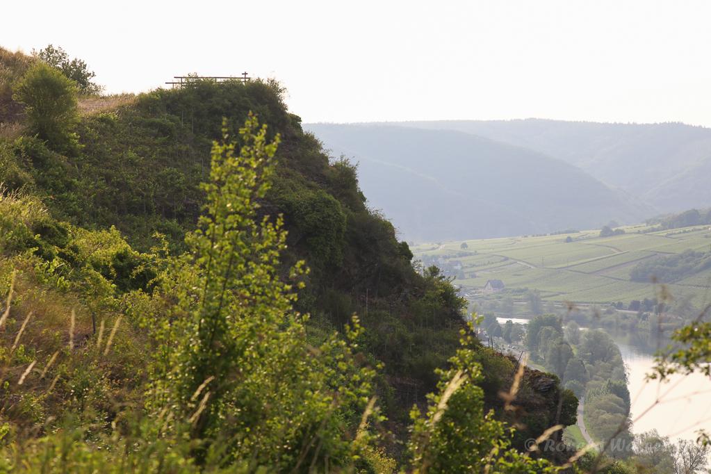 Aussichtspunkt Hahnenberg von der Apollo-Hütte aus